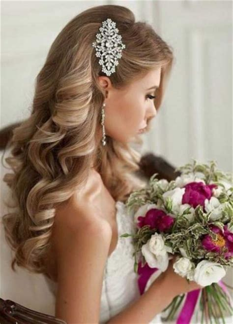hairstyles on the side for a wedding wedding updos for long curly hair for inspire my salon