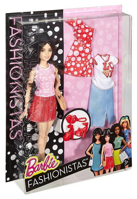 barbie fashionistas doll fashions pizza pizzazz petite