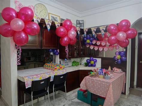birthday decoration ideas in home made by nisya diy birthday decoration