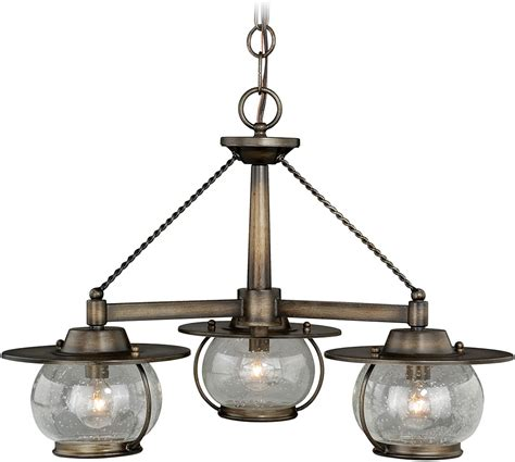 Nautical Chandelier Vaxcel H0137 Jamestown Nautical Parisian Bronze Exterior Mini Chandelier Lighting Vxl H0137