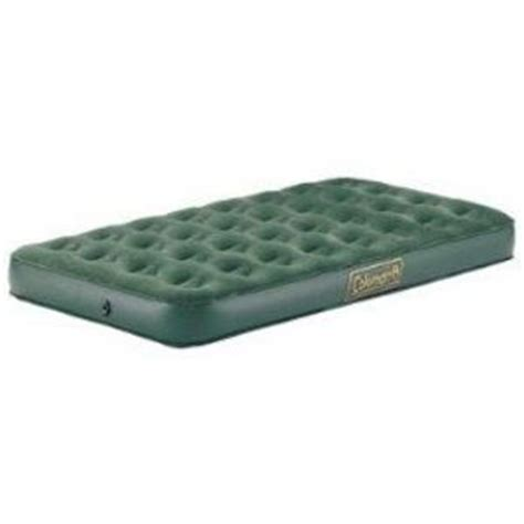 Coleman Air Mattress by Coleman Deluxe Air Mattress With Velour Top 5998 310c Reviews Viewpoints