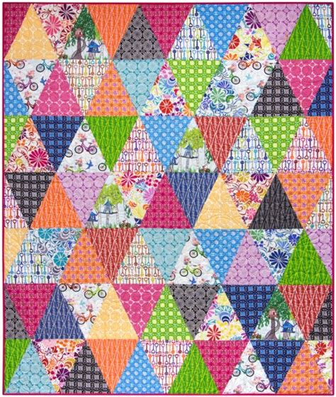 Free Quilt Fabric by Three Times Around Free Pattern Robert Kaufman Fabric Company