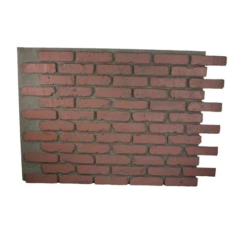 100 interior brick veneer home depot manufactured