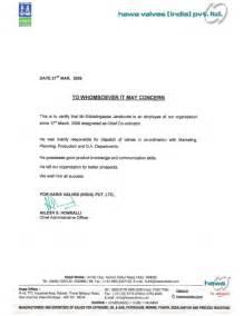 1 hawa experience certificate