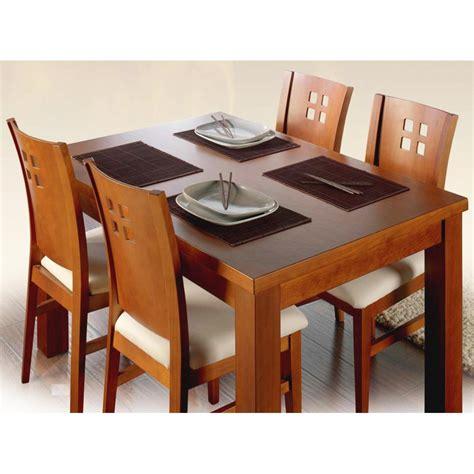 mesa de comedor rustica  extensible en madera