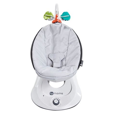 4moms baby swing 4moms 174 rockaroo 174 infant swing grey classic target