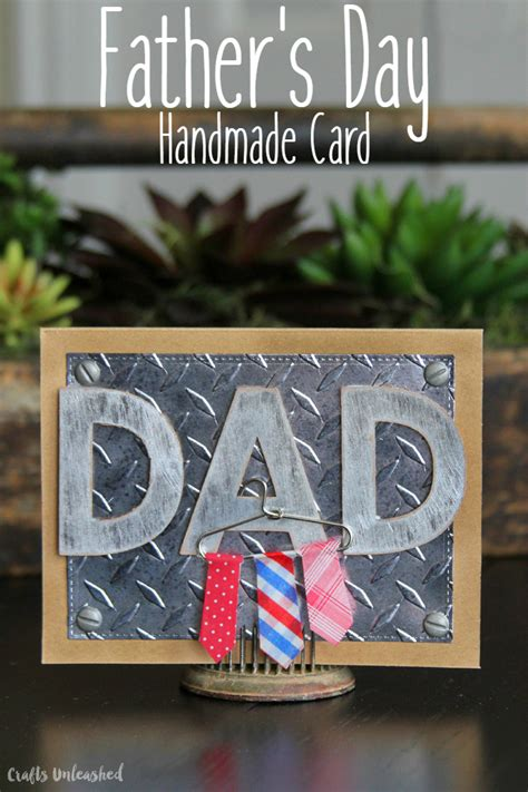 diy rugged s day card diy s day card with mini hanger consumer crafts