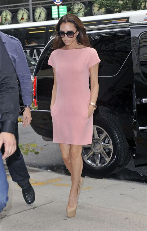 Frock Horror Of The Week The Spice Victorias Secret Carpet Appearance by Beckham Day Dress Beckham Clothes