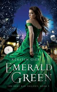 Good Book Series To Read For Young Adults by Kerstin Gier Ruby Red Sapphire Blue Emerald Green