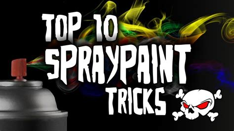 cool spray paint colors top 10 spray paint tricks hd