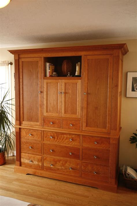 Custom Armoires by Custom Built In Armoire By Woodworks Custommade