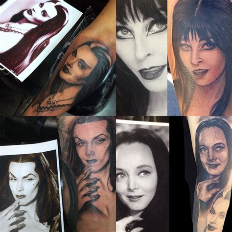 hypnotic tattoo hypnotic tattoos las vegas shop elvira munster