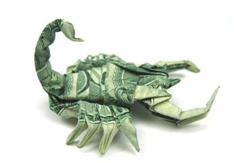 Cool Dollar Bill Origami - stunning origami made using only money i like to waste