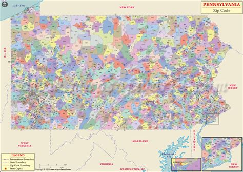 us area code pennsylvania buy pennsylvania zip code map