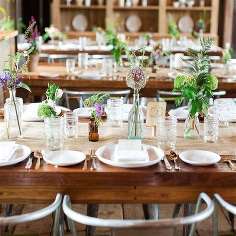 wedding table decoration diy ideas country wedding table decorations blomwedding