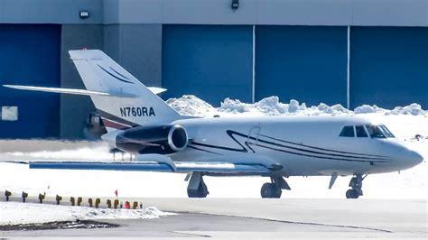 royal air freight dassault falcon 20 fa20 landing departing montreal yul cyul