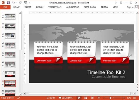 Animated Timeline Maker Templates For Powerpoint Animated Timeline Maker
