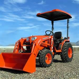 Kubota Canopy Top by P10 Series Fiberglass Canopy For Tractors Amp Mowers Orange