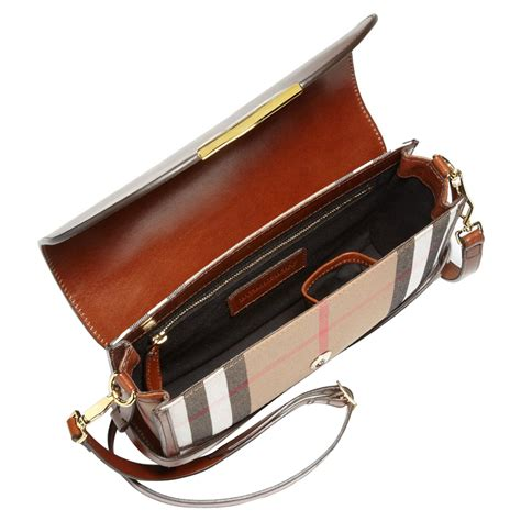 Burberry Crossbody Authentic Burberry Bridle House Check Small Abbott