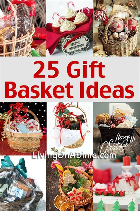 25 gift ideas 25 easy inexpensive and tasteful gift basket ideas