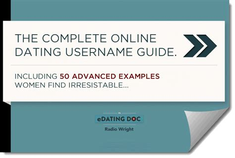 Dating site usernames examples for men