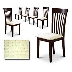 Cheap Dining Chairs Set Of 8 Espresso Cappuccino Finish Kitchen Dining Side Chairs Set Of 6 Chairs Discount