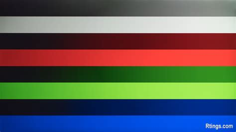 color banding gradients on tvs color bit depth rtings