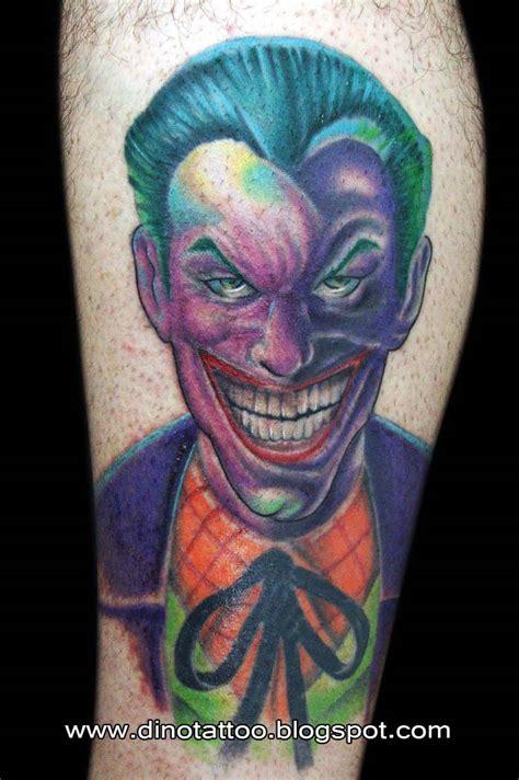 joker tattoo artist tattoo joker by dinotattoo on deviantart