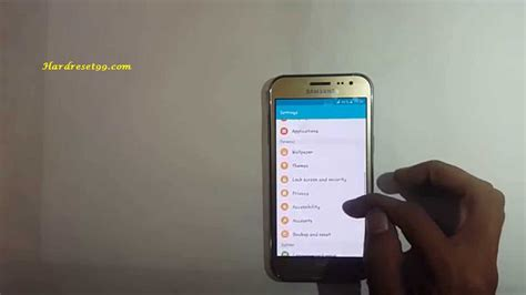reset samsung duos to factory settings samsung galaxy j2 duos hard reset factory reset and