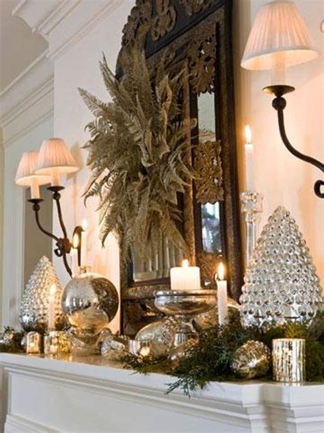 winter decorations ideas picture of cozy winter mantle decor ideas