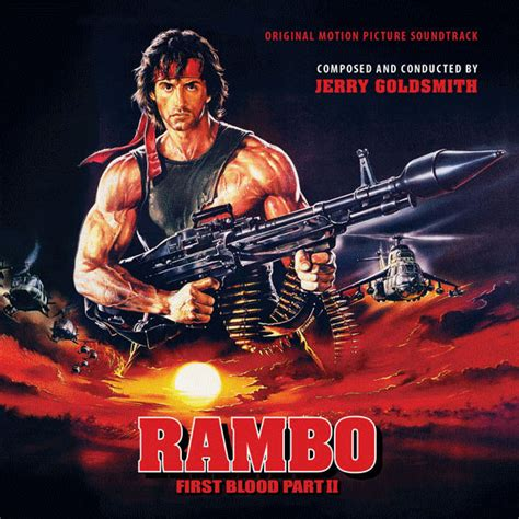 rambo film songs rambo first blood part 2 soundtrack 2cd jerry goldsmith