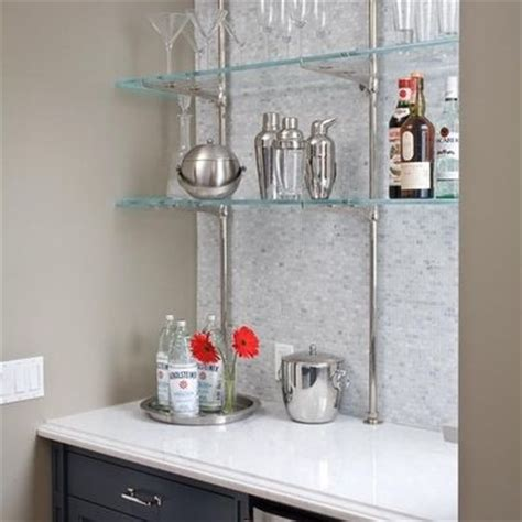 glass bar shelves for bar home bar ideas