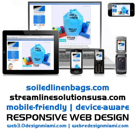 laundry web design responsive web design by miami web developer adds broad
