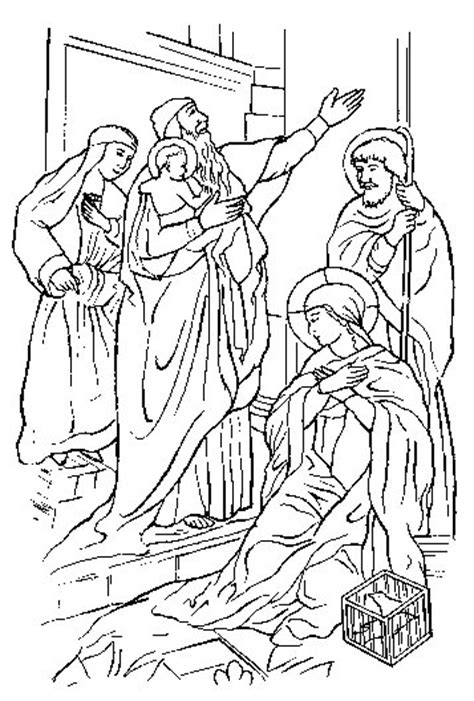 coloring pages of the joyful mysteries free the five joyful mysteries coloring pages
