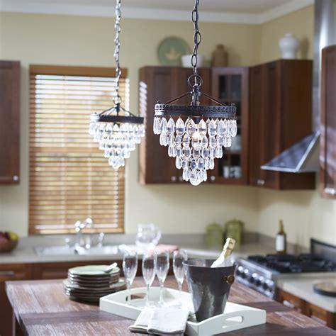 chandelier lighting over kitchen island crystal pendant lighting over island lighting ideas