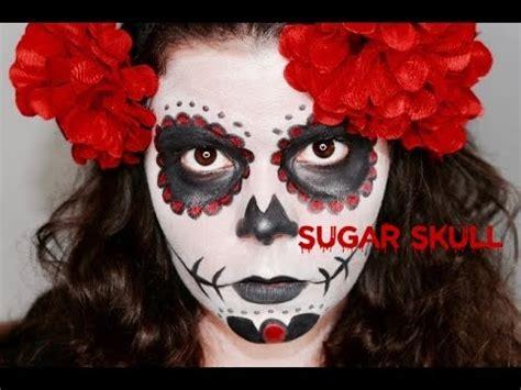 tuto maquillage halloween sugar skull tete de mort