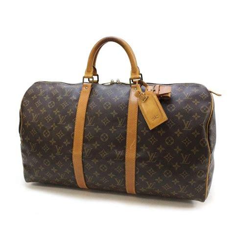 Tas Louis Vuitton 9581 louis vuitton keepall 50 vintage travel bag sports weekend catawiki