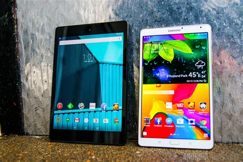 Tablet Comparison Nexus 9 nexus 9 vs samsung galaxy tab s 8 4