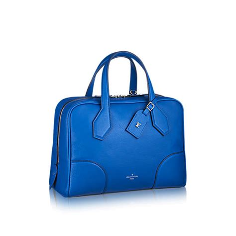 Ultra Exclusive Bags From Louis Vuitton louis vuitton bleu royal ultra soft mm bag spotted
