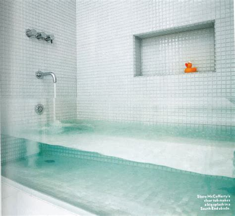 Glass For Bathtub by Clear Glass Bathtub Design