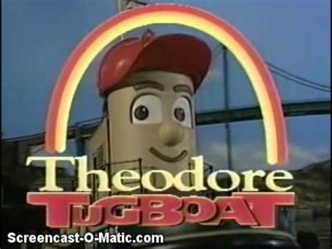 tugboat kid show opening to theodore tugboat hank and the nightlight 1998