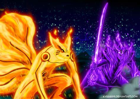 wallpaper bergerak naruto vs sasuke batman vs superman animasi bergerak naruto kyubi vs