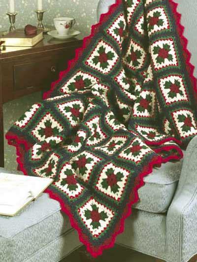 pattern christmas afghan crochet granny square christmas granny afghan