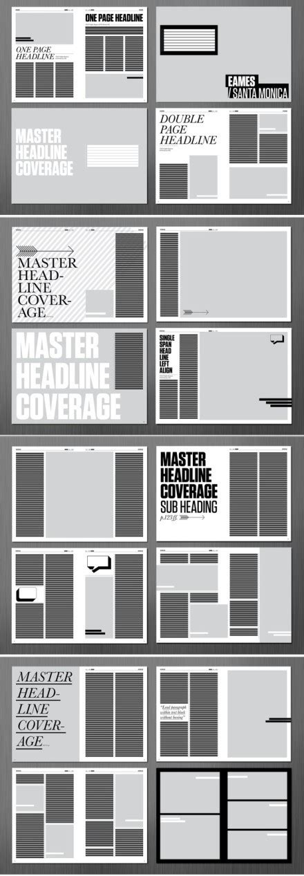 book layout generator 高端大气的排版设计 平面设计理论 三联