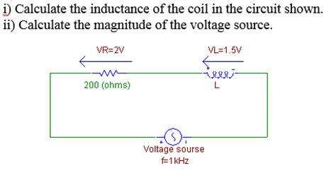 calculate inductance e electrical engineering archive june 06 2015 chegg