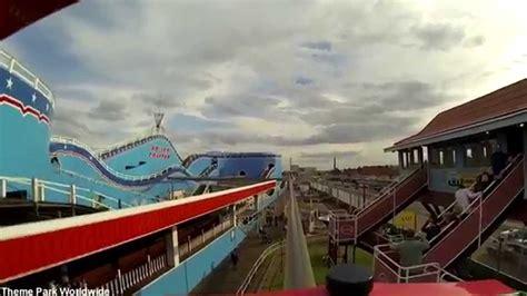theme park yarmouth monorail on ride hd pov great yarmouth pleasure beach