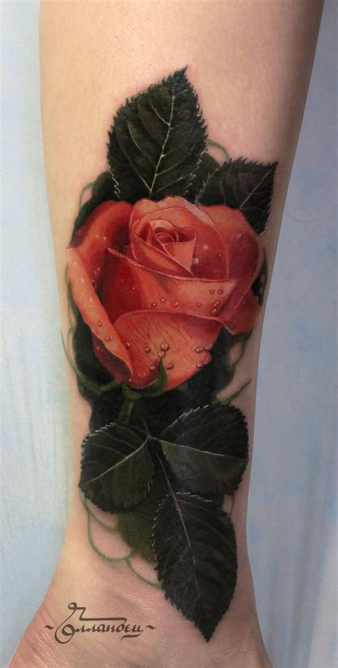 realism rose tattoo realistic never actually seen a