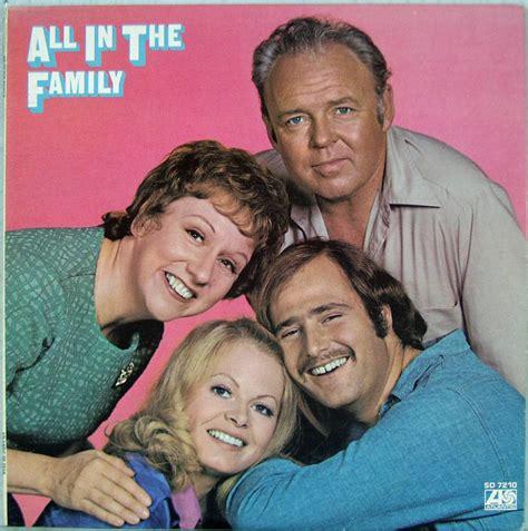 Sd Records All In The Family Atlantic Records Lp Sd 7210 Carroll O Connor Jean Stapleton
