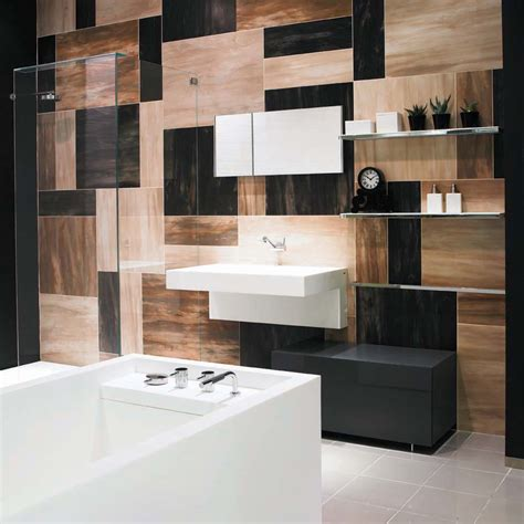 great ideas  pictures cool bathroom tile designs