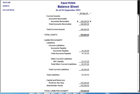 Accounting Entries Accounting Entries In Quickbooks Quickbooks Balance Sheet Template